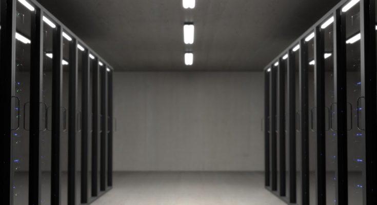 serwerownia firmy hostingowej