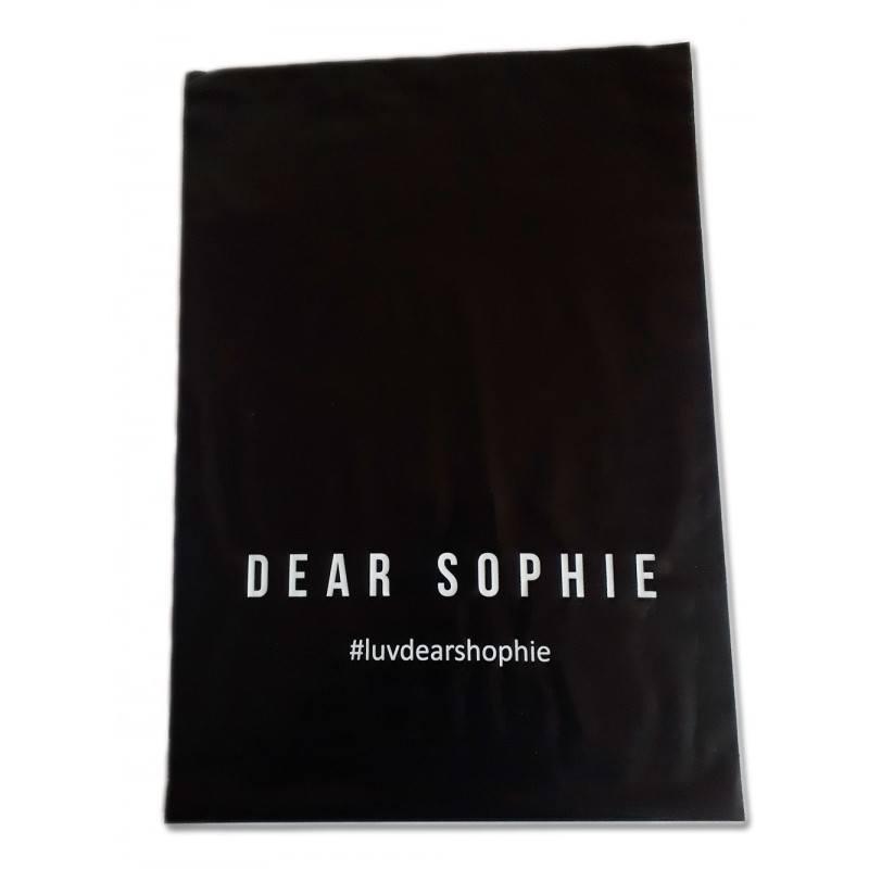 foliopak kurierski Dear Sophie, kolor czarny