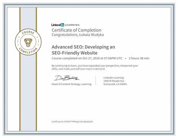 Advanced SEO Developing an SEOFriendly Website.