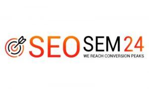 Logo SEOSEM24 - opinie o agencjach.